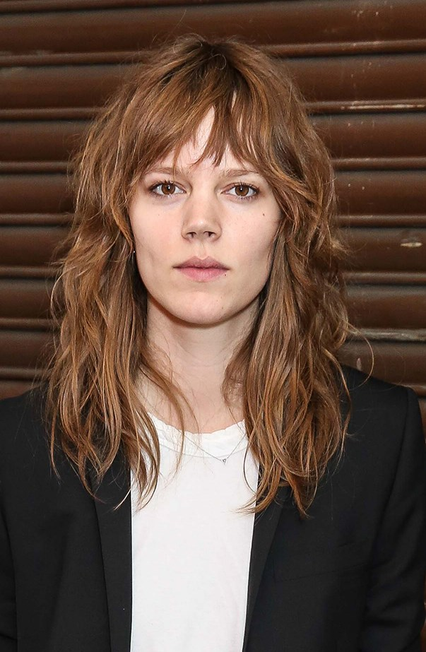 """<p><strong>What's the best hair length for this look?</strong> <p>""""While most hair lengths can pull off the 'model off-duty' look, the typical style is a lob just below shoulder length. Layered cuts work best with these styles as well, as they exaggerate texture and movement,"""" advises Joey. """"For a more rock'n'roll model off-duty style, add a well cut heavy fringe."""""""