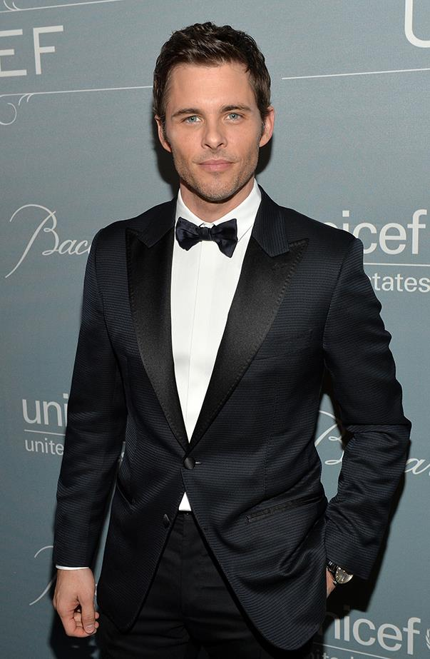 "<p><strong>James Marsden</strong> <p>When James made an appearance on <em>The Ellen DeGeneres Show</em> he told the talk show host about his <a href=""http://people.com/movies/james-marsden-gets-a-kiss-from-his-celebrity-crush-helen-mirren/"" target=""_blank"">crush on Helen Mirren</a>. ""I just love her, I do,"" he gushed. ""I've had a massive crush on her for years."" He even admitted to stalking her through an airport once, even taking a photo. He even shared the photo with the audience! Lucky for James, Helen was also a guest star on Ellen's show that day, so as he talked about creeping up on her at the airport, she appeared, and they shared a kiss!"