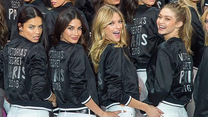 Victoria's Secret fashion show on TV in Australia
