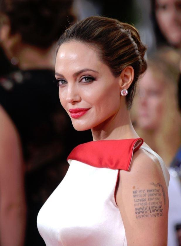 <strong>Angelina Jolie</strong> <br> <br> Elegant and regal in every red carpet appearance, Angelina Jolie's royal connection is hardly a surprise. <br> <br> It seems as if Jolie is related to French royalty through her mother, Marie Betrand, by her connection to the first King of France, Phillip II, who ruled from 1180 to 1223. <br> <br>  To sweeten the deal, Jolie and Queen Elizabeth II are 26th cousins.