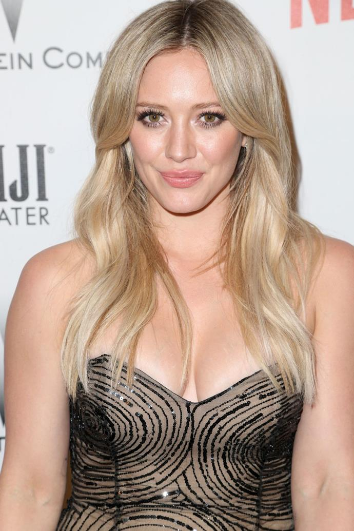 <strong>Hilary Duff</strong> <br> <br> Hilary Duff, besides being the original Disney princess, is said to be the most closely related American celebrity to the Queen herself.  <br> <br> The *Lizzie McGuire* star is her majesty's 18th cousin, through Alexander Spotswood, who was the 10th great-grandson of Edward III. This what dreams are made of, literally.