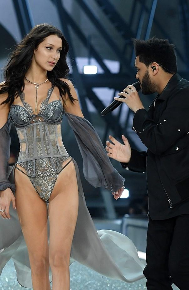 Bella Hadid The Weeknd Victoria's Secret Fashion Show