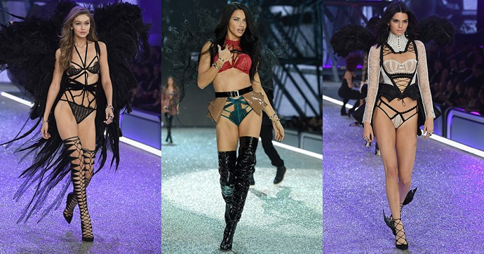 All of the pictures from the 2016 Victoria's Secret fashion show.