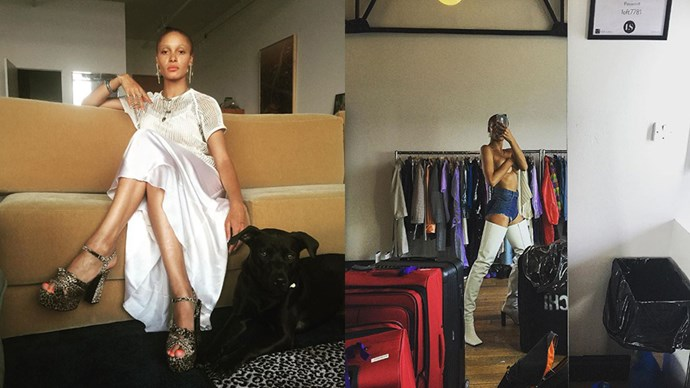 """<strong>Adwoa Aboah</strong> <br><br> Adwoa is a model and founder of website <a href=""""https://www.instagram.com/gurlstalk/?hl=en"""">GURLS TALK</a>, which opens up discussions about issues women are faced with in society. <br><br> Instagram: <a href=""""https://www.instagram.com/adwoaaboah/?hl=en"""">@adwoaaboah</a>"""