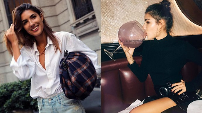 """<strong>Patricia Manfield</strong> <br><Br> Founder of fashion blog T<a href=""""http://www.theatelier.me/"""">he Atelier</a>, Patricia is constantly pap'd for her street style and is currently recording her debut album. <br><Br> Instagram: @patriciamanfield"""