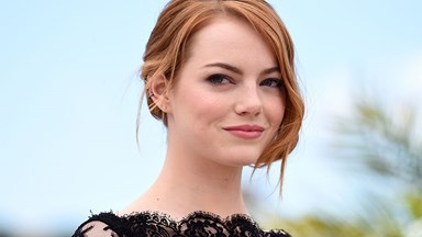 Emma Stone Wore Glittery Lipstick And Now We Want To Wear Glittery Lipstick