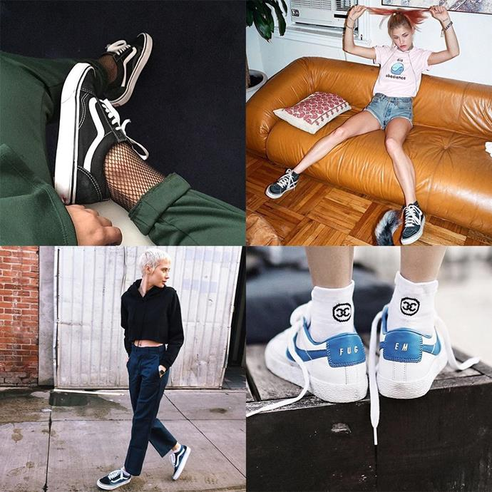 "<p><strong>Athleisure</strong> <p>The term 'athleisure' was coined to define the athleticwear people wore outside of exercise. This account pulls together versions of those looks. Everything with sneakers, always. <p><a href=""https://www.instagram.com/athleisure/"">Instagram.com/athleisure</a>"