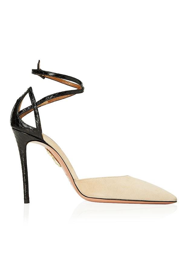 Very Deena, Animalier Sandal, Nude And Black–$1250.