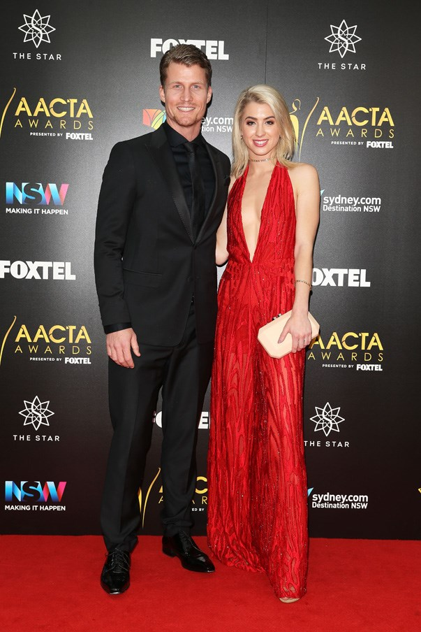 <p>Richie Strahan and Alex Nation in Lilli Marcs.