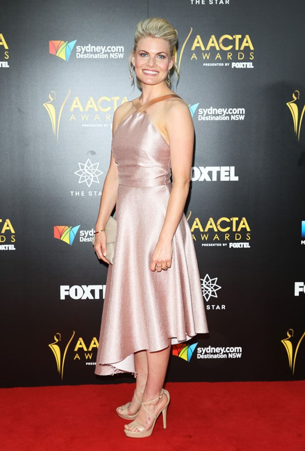 <p>Bonnie Sveen in Ginger and Smart.