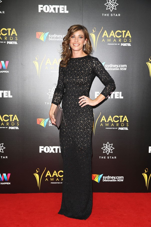 <p>Brooke Satchwell in Grace Loves Lace.