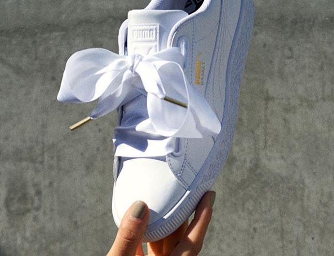 Puma Basket Heart Sneakers.