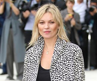 Kate Moss Burberry show