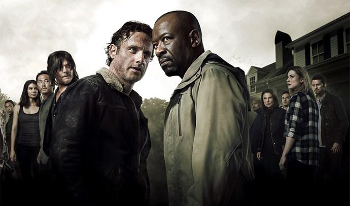 4. The Walking Dead, season six.
