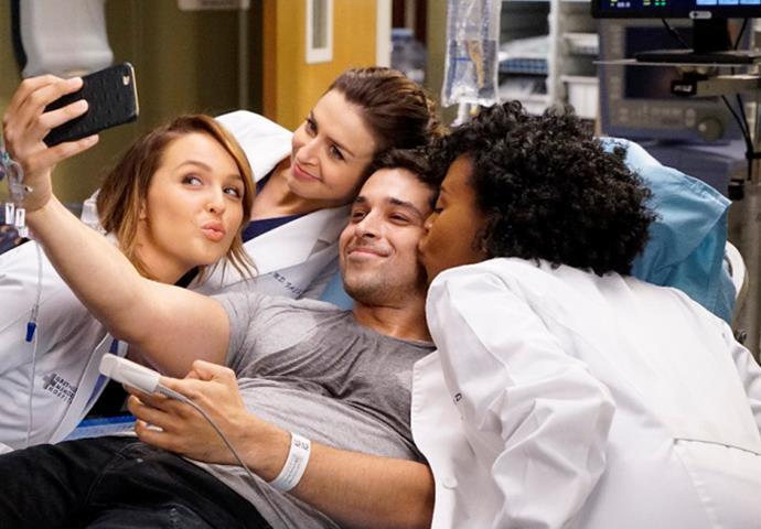 8. Grey's Anatomy, season 13.