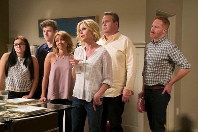 9. Modern Family, season eight.