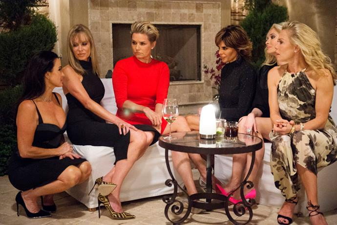 10.	The Real Housewives of Beverley Hills, season six.