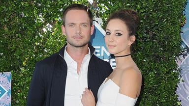 Troian Bellisario And Patrick J. Adams Tie The Knot In A Dreamy Boho Wedding
