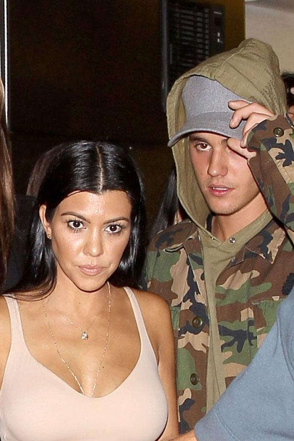 <p><strong>Kourtney Kardashian and Justin Bieber</strong> <p>Major age-gap friends.