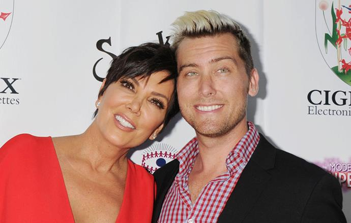 <p><strong>Kris Jenner and Lance Bass</strong> <p>Double-dating friends.