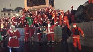Cara Delevingne Santa Rave