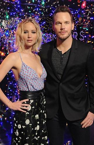 Jennifer Lawrence Chris Pratt