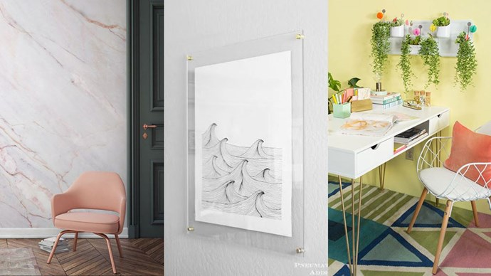 """When it comes to interior design, Pinterest is a wealth of inspiration. The site's insights team have trawled through their data to identify emerging trends. Here are the top interior design trends for 2017, <a href=""""https://au.pinterest.com/pinterest/pinterest-100-for-2017/"""">according to Pinterest</a>:"""
