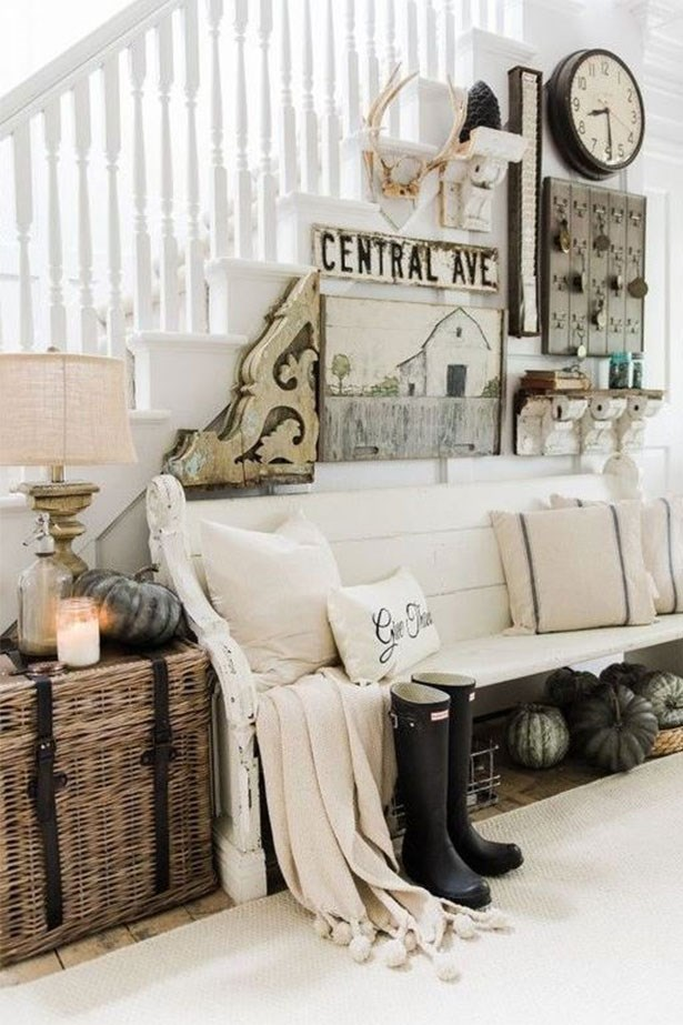 """<a href=""""https://au.pinterest.com/pin/424605071105031731/"""">Farmhouse style is the new shabby chic.</a>"""