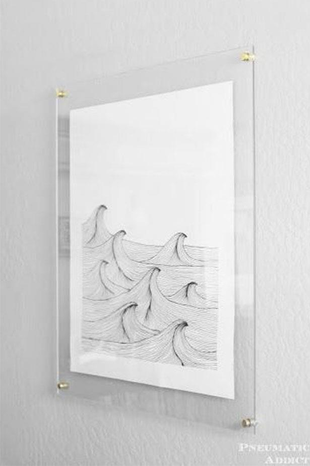 "<a href=""https://au.pinterest.com/pin/424605071105031709/"">Frameless floating art.</a>"