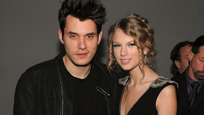 John Mayer and Taylor Swift.