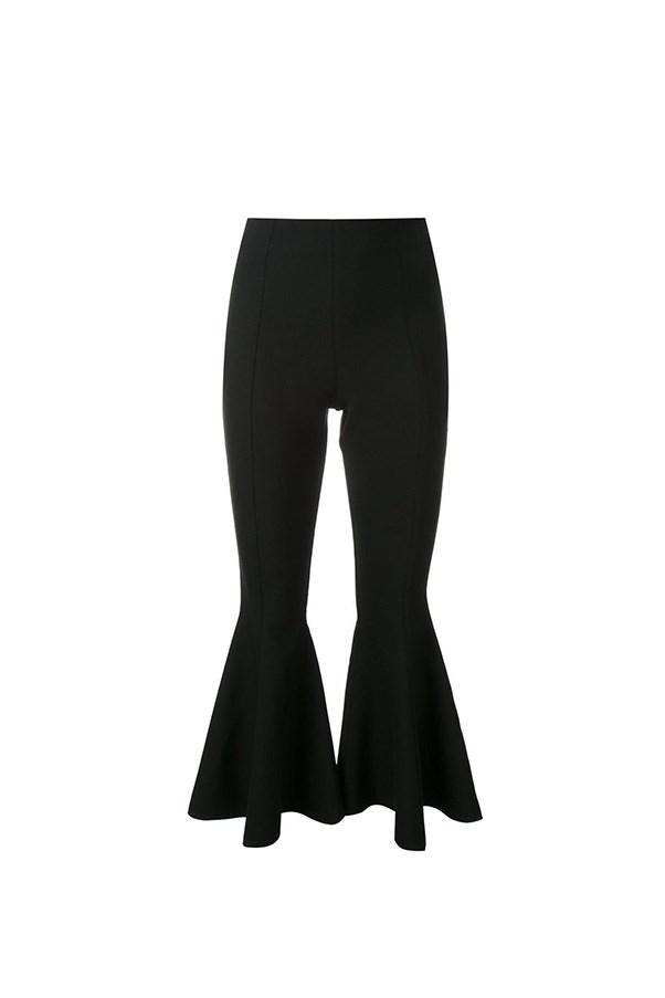 "Georgia Alice flared pants, $218, <a href=""https://www.farfetch.com/au/shopping/women/georgia-alice-pirate-cropped-flared-pants-item-11524873.aspx?storeid=9991&from=listing&tglmdl=1&rnkdmnly=1&ffref=lp_pic_19_5_"">Farfetch</a>"