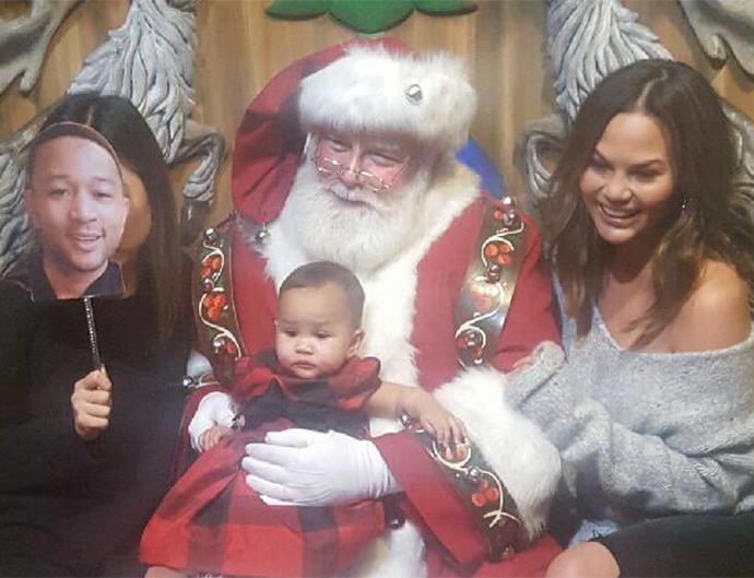Chrissy Teigen Luna Santa