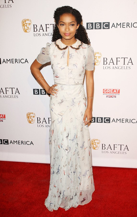 <P><strong>YARA SHAHIDI IN TOMMY HILFIGER</strong> <BR><BR> This Tommy Hilfiger gown struck the perfect mix of chic and casual for the <em>Black-ish</em> actress at the BAFTA Tea Party.