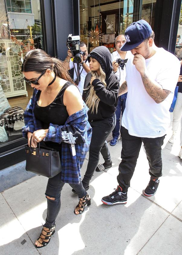 <strong>July 2016</strong> <BR><BR> The couple had their first massive, public fight when Rob deleted any trace of Chyna from his Instagram account. They later made up but announced that the wedding was delayed.