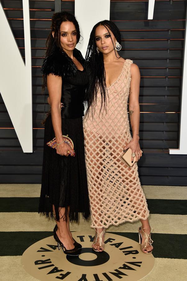 **Lisa Bonet and Zoe Kravitz**