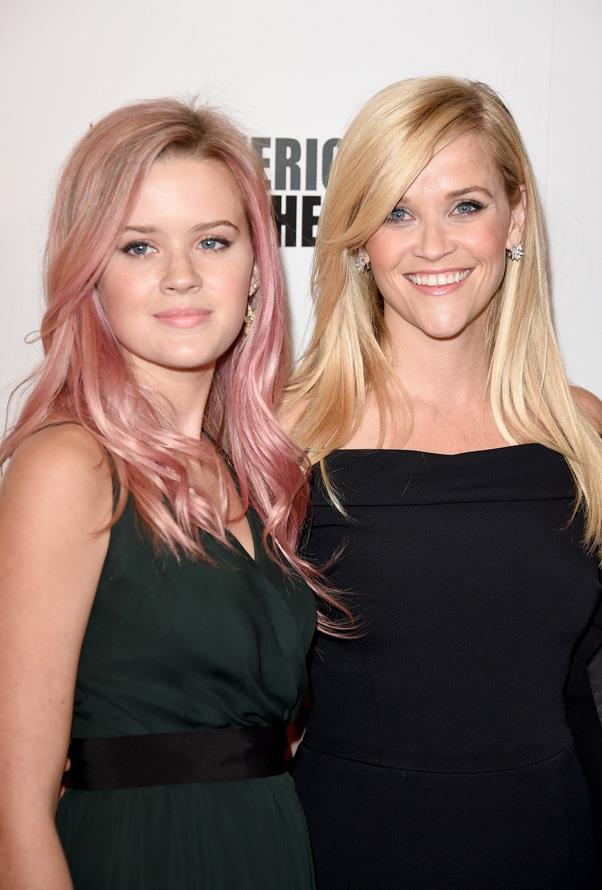 **Ava Phillippe and Reese Witherspoon**