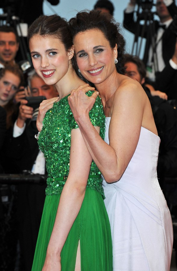 **Sarah Margaret Qualley and Andie MacDowell**