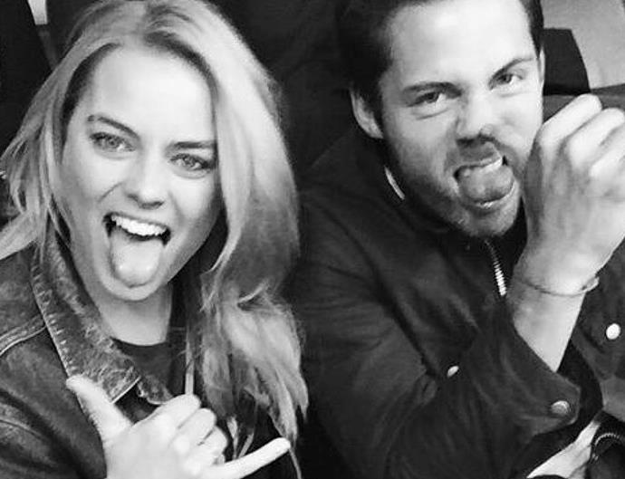 Margot Robbie and Tom Ackerley.