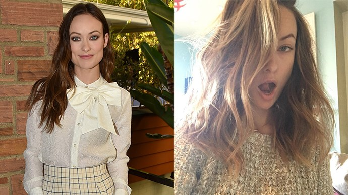 <strong>Olivia Wilde</strong> <Br><BR> Olivia chopped off her signature, long locks, to look less like Melania Trump, saying on Instagram #NoMoreMelaniaHair.