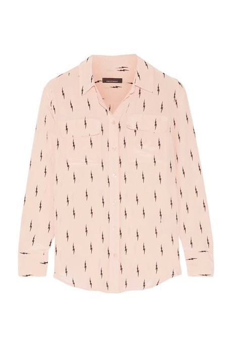 "<p>Slim Signature Printed Washed-Silk Shirt, $525, <a href=""https://www.net-a-porter.com/au/en/product/791973"" target=""_blank"">Kate Moss for Equipment at net-a-porter.com</a>."