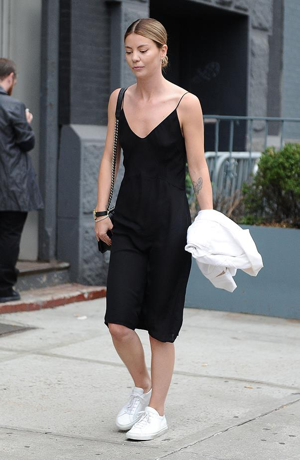 <p><strong>Perth: Sunny, 18°C–30°C</strong> <p>A black silk slip dress is perfect for any occasion and can be  slipped over your bikini, post-beach—add flats for more relaxed affairs.