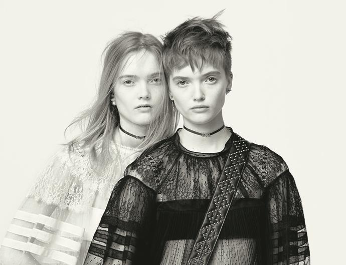 Dior S/S 2017 campaign.