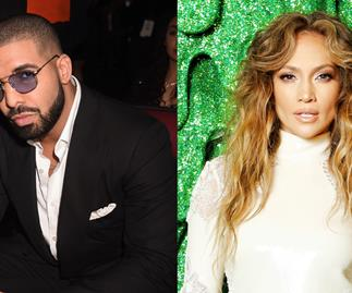 Drake and Jennifer Lopez.