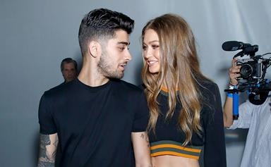 Gigi Hadid And Zayn Malik Team Up For Versus Versace's Newest Campaign