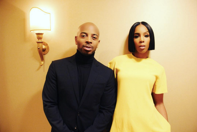 "Tim Spoon and Kelly Rowland <br><br> <a href=""https://www.instagram.com/p/BO-ZVIbgSd-/"">@kellyrowland</a>"