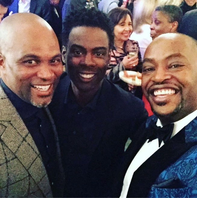 "Chris Spencer and Chris Rock <br><br> <a href=""https://www.instagram.com/therealchrisspencer/"">@therealchrisspencer</a>"
