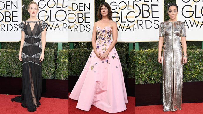 Golden Globe Fashion Moments