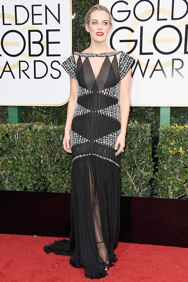 "<strong>Riley Keough </strong> <br></br> Riley's role in <em>Mad Max: Fury Road</em> put this fierce woman on our celebrity radar, however, when Lisa Marie Presley's daughter stepped out on this year's Golden Globe red carpet wearing vintage-inspired Chanel and a classic red pout, she earnt herself the coveted status of bombshell. Add in a nomination for her stellar performance in <em>The Girlfriend Experience</em> and there's nothing this girl can't do. <br></br> Instagram: <a href=""https://www.instagram.com/rileykeough/?hl=en"">@rileykeough</a>"