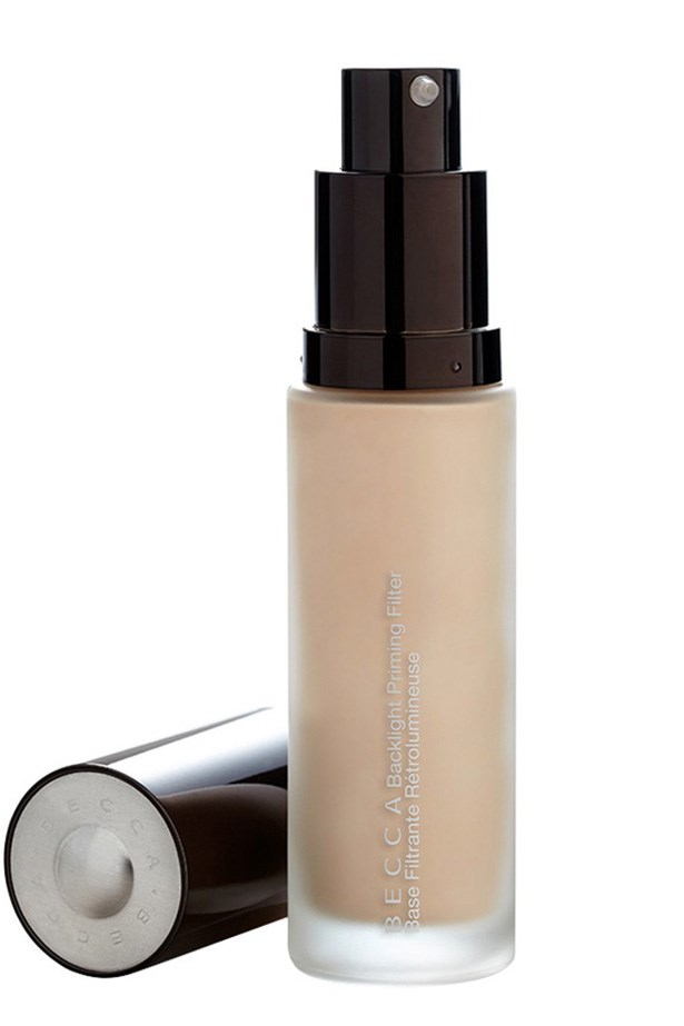 """Three kinds of pearls diffuse the light, blurring imperfections. <a href=""""http://www.sephora.com.au/products/becca-backlight-priming-filter"""">BECCA Backlight Priming Filter, $65</a>"""