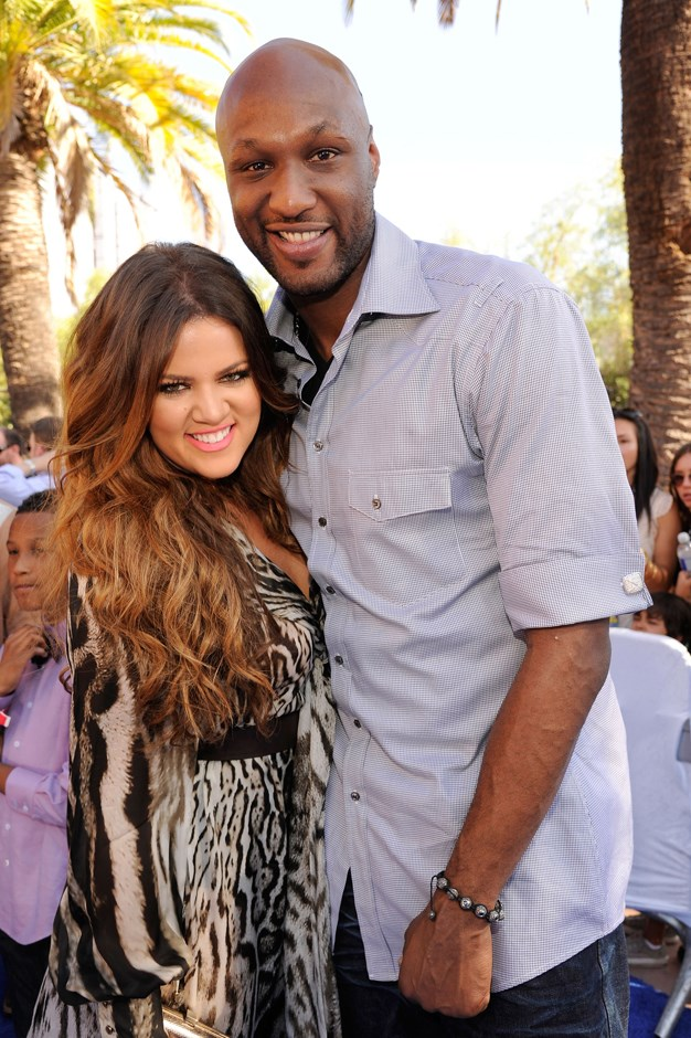 **Who?** Khloé Kardashian and Lamar Odom.  **How long?** One month.  **Did it last?** Khloé and Lamar weren't into waiting around. One month to the day since they met at a party, the two were wed in LA. Unfortunately, it wasn't to be. Lamar and Khloé filed for divorce in 2013.